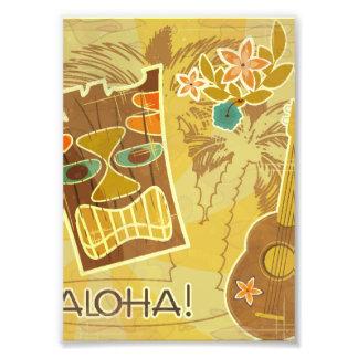 Hawaiian Tiki Mask Photo Print