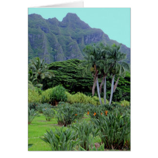 Hawaiian Tropical Grandeur Card