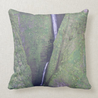 Hawaiian Waterfall Pillow