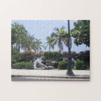 Hawaiian Waterfall Puzzle