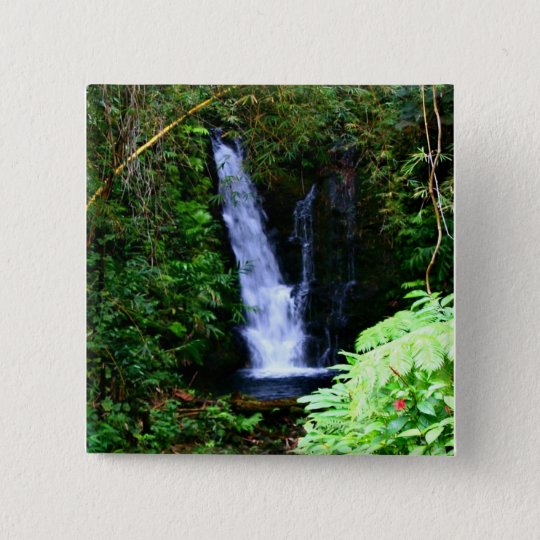 Hawaiian Waterfalls Button