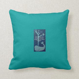Hawaiian Whale Tale Pillow