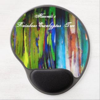 Hawaii's Rainbow Eucalyptus Tree Mouse pad Gel Mouse Pad