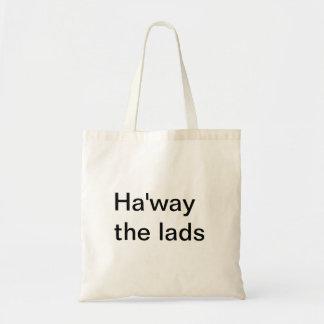 Ha'way the lads Bag Tote Bag