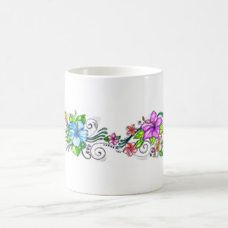 Hawiian Hibiscus Flowers Coffee Mug