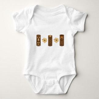 Hawiian Tiki Gods Baby Bodysuit
