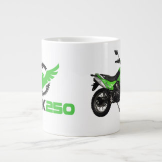Hawk 250 Green Bike Jumbo Mug