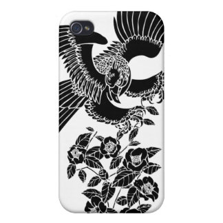 hawk and camellia 鷹椿 case for the iPhone 4