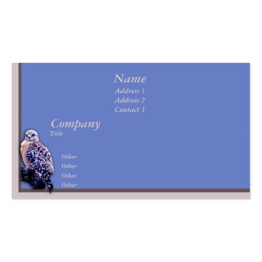 Hawk Business Card Template