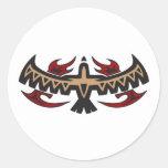 Hawk Eagle Tribal Tattoo