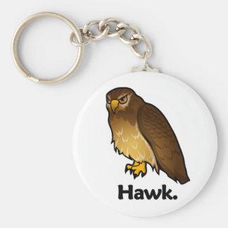 Hawk Hawk. Key Ring