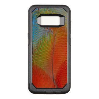Hawk-Headed Parrot Feathers OtterBox Commuter Samsung Galaxy S8 Case