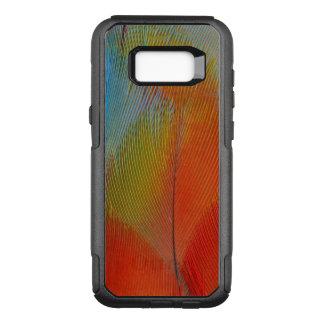 Hawk-Headed Parrot Feathers OtterBox Commuter Samsung Galaxy S8+ Case