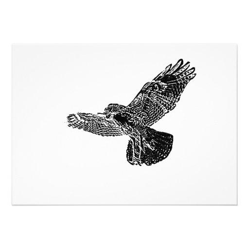 Hawk Invitation Card