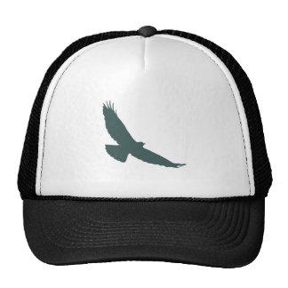 Hawk Raptor Predator Bird Silhouette Cap