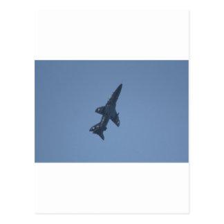 Hawk Trainer Aircraft Raf Leeming 100 Squadron Postcard