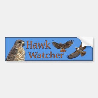 Hawk Watcher bumper sticker