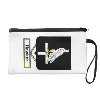Hawker Family Crest Wristlet