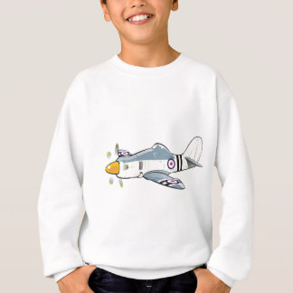 hawker fury caricature sweatshirt