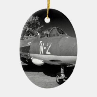 Hawker Hunter FGA.78 aircraft. Christmas Ornament