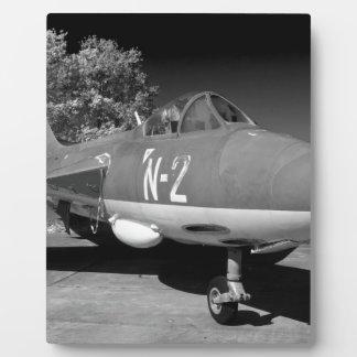 Hawker Hunter FGA.78 aircraft. Plaque