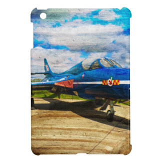 Hawker Hunter T7 aircraft on wood Case For The iPad Mini