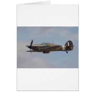 Hawker Hurricane Card