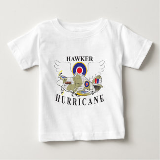 hawker hurricane caricature baby T-Shirt