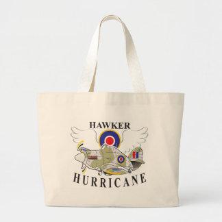 hawker hurricane caricature canvas bag
