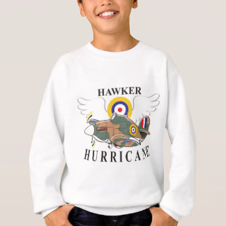 hawker hurricane caricature sweatshirt