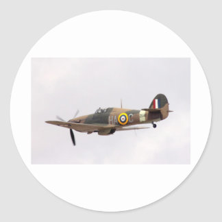 Hawker Hurricane Classic Round Sticker