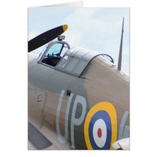 Hawker Hurricane Cockpit Greeting Card