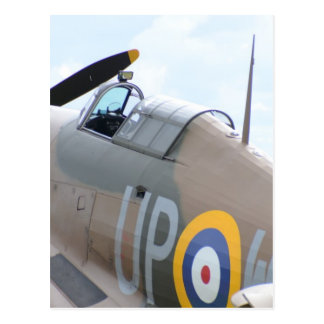 Hawker Hurricane Cockpit Postcard