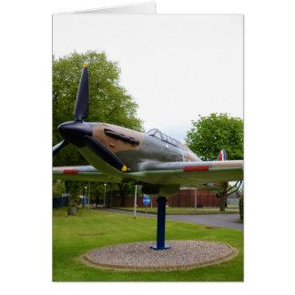 Hawker Hurricane Greeting Card