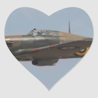 Hawker Hurricane Heart Sticker