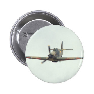 Hawker Hurricane `Last of the many' 6 Cm Round Badge