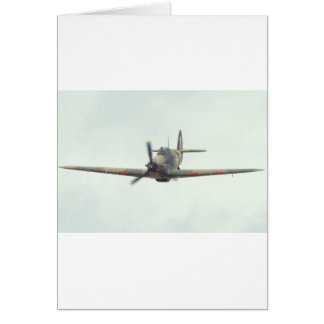 Hawker Hurricane `Last of the many' Card
