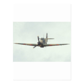 Hawker Hurricane `Last of the many' Postcard