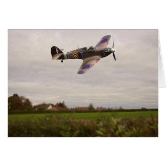 Hawker Hurricane Mk XIIa  [G-HURI] Card