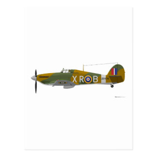 Hawker Hurricane Postcard