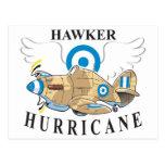 hawker hurricane postcards