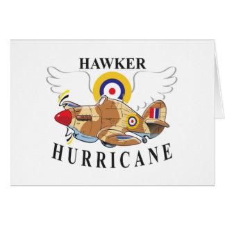 hawker hurricane tropical version card