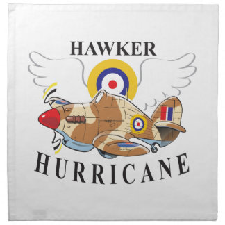 hawker hurricane tropical version napkin