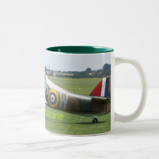 Hawker Hurricane Two-Tone Coffee Mug