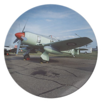 Hawker Sea Fury at CAF, Minnesota Wing, at the 2 Dinner Plate