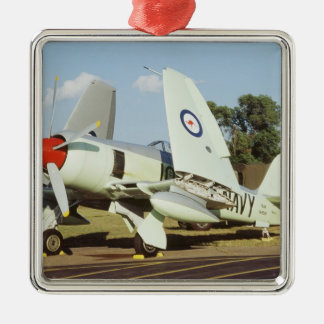 Hawker Sea Fury at CAF, Minnesota Wing, at the Christmas Ornament