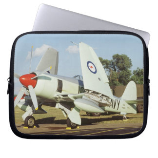 Hawker Sea Fury at CAF, Minnesota Wing, at the Laptop Sleeve