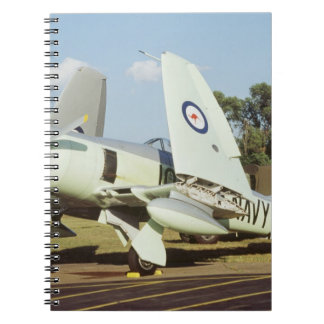 Hawker Sea Fury at CAF, Minnesota Wing, at the Notebooks