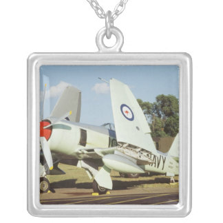 Hawker Sea Fury at CAF, Minnesota Wing, at the Silver Plated Necklace