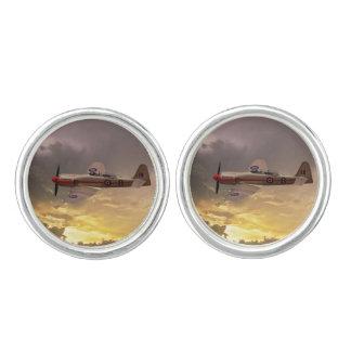 Hawker Sea Fury Cuff Links